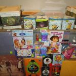 lot de loisirs creatifs boites, deco, stickers, articles festifs, album… etc